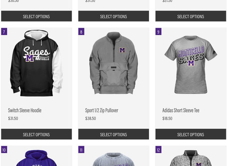 Fresh Sages Fan Gear for Winter