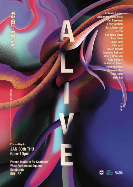 ALIVE! Poster