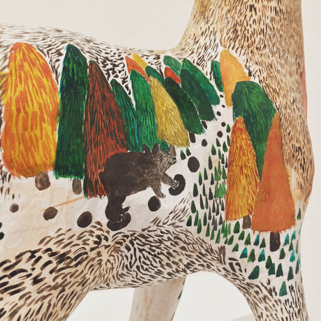 Hand painted Reindeer