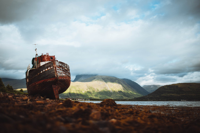 Corpach Shipwreck
