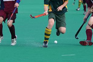 Feld-Hockey-Spiel