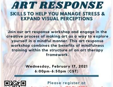 Art Response Mental Health Workshop