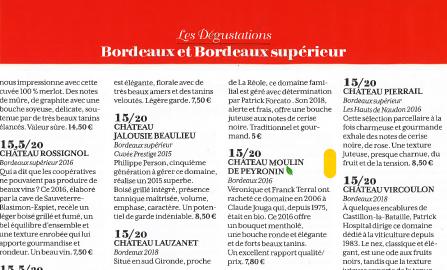 Article Revue des vins de France