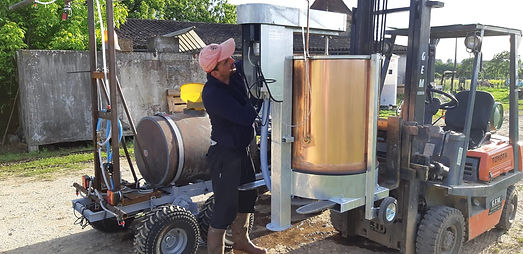 Préparation pulvérisation biodynamie