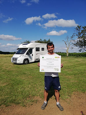 Franck Terral Camping car Pujols