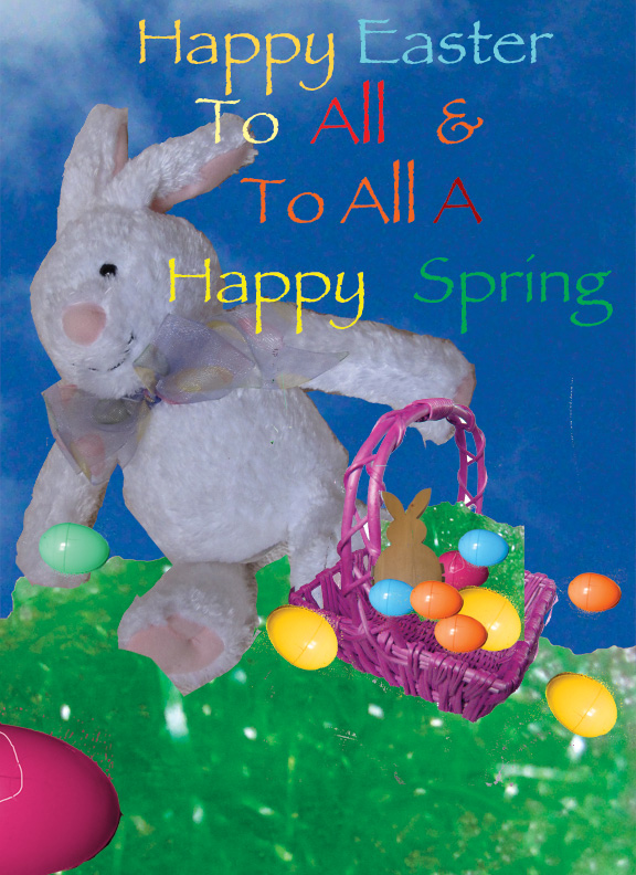 Easter Land Card