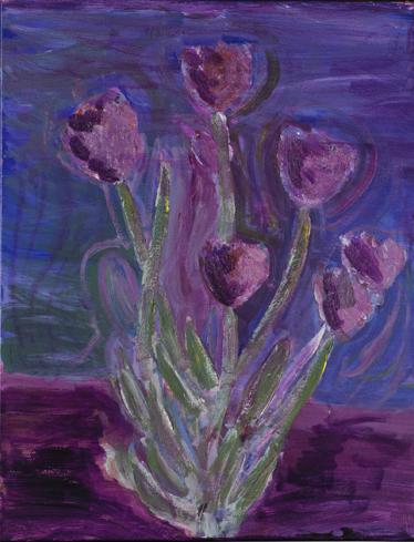 The Violent Violet Tulips