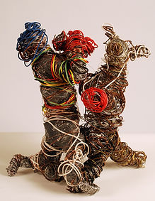 wire sculpture, print for sale