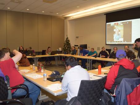 December (S.A.I.L) meeting 12-10-2019