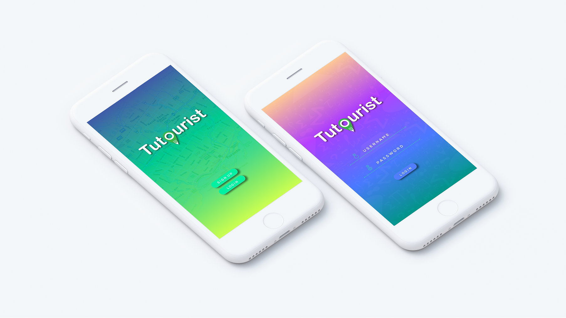Tutourist App Design