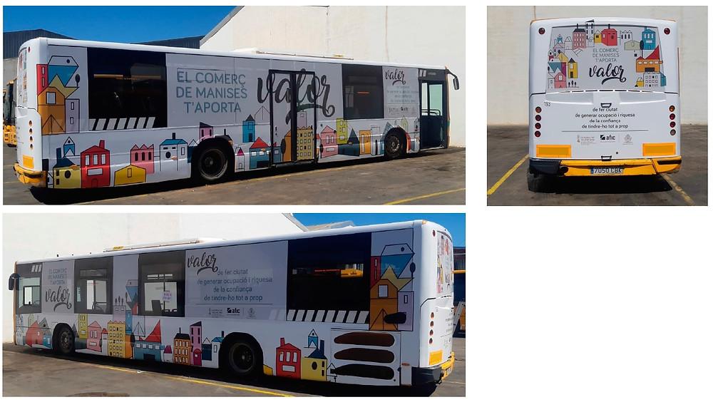 Autobús publicitario