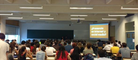 Charla sobre marketing en la Universidad Politécnica de Valencia