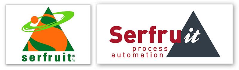 Idees, logotipo SERFRUIT, diseño, restyling de marca
