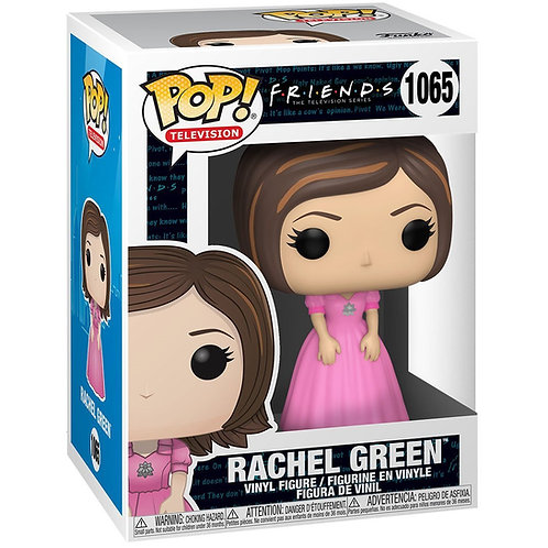Rachel Green in pink dress Funko Pop! Friends #1065