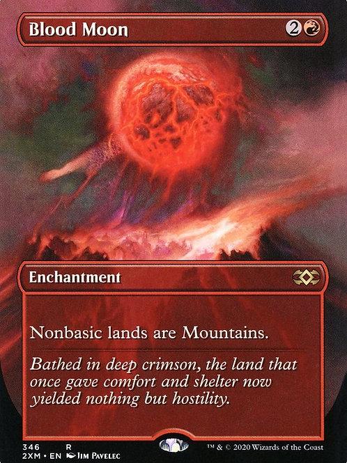 Blood Moon - Borderless Double Masters  Alternate Art #346