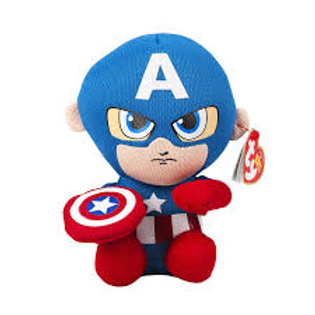 "Captain America TY Marvel 6"" Petit"