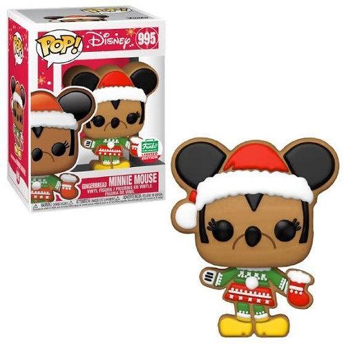 Minnie Mouse Gingerbread Funko Pop! Disney #995 Funko Limited