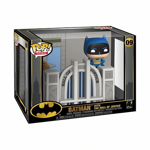 Batman with the Hall of Justice Funko pop! Batman #09