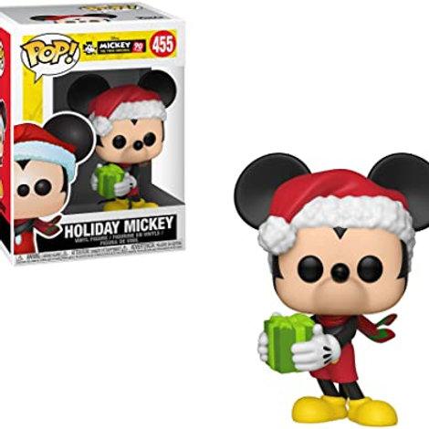 Holiday Mickey Funko Pop! Mickey The True Original #455