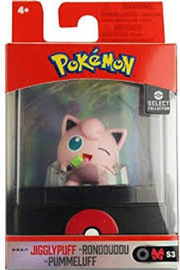 Jigglypuff Pokemon Select Collection Serie 3 Figurine 2""