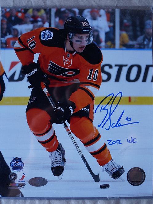 Brayden Schenn Philadelphia Flyers Photo Auto