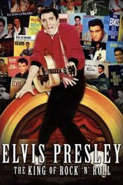 Elvis Presley The King Of Rock'n'Roll Tin Sign