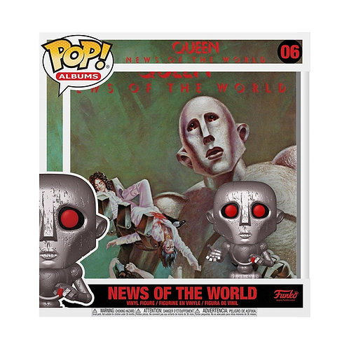 News of the World Funko Pop! Albums Queen #06