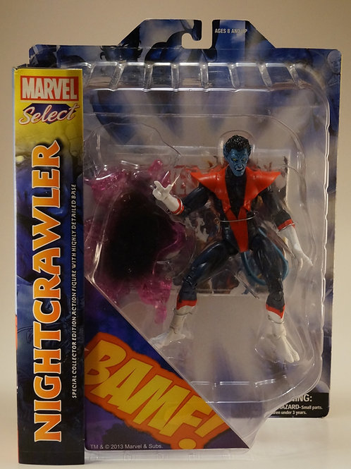 Nightcrawler Marvel Select Action  Figure