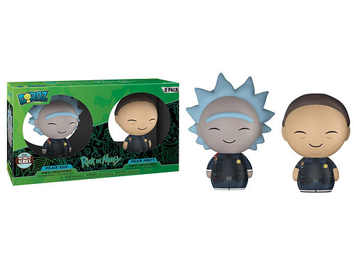 Police Rick/Police Morty Funko Dorbz Rick and Morty 2 Pack Specialty Series