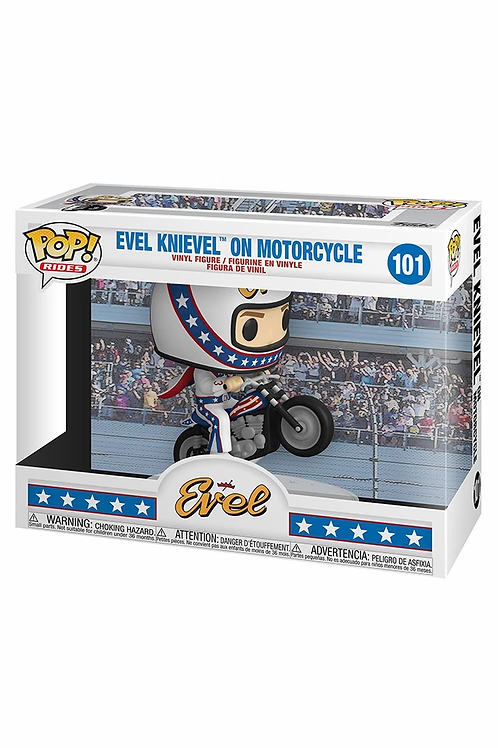 Evel Knievel on Motorcycle Funko Pop! Evel #101