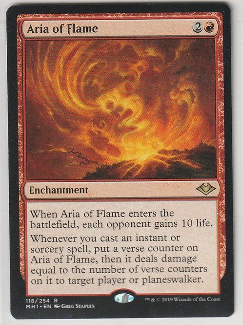 Aria of Flame Modern Horizons #118/254