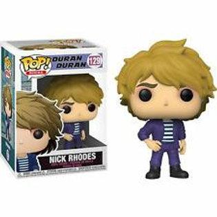 Nick Rhodes Funko Pop! Duran Duran #129