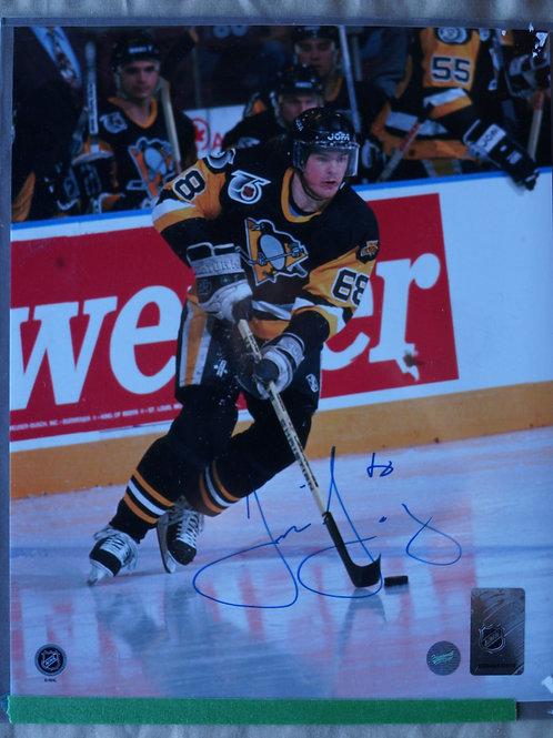 Jaromir Jagr Pittsburg Penguins Autographed Photo