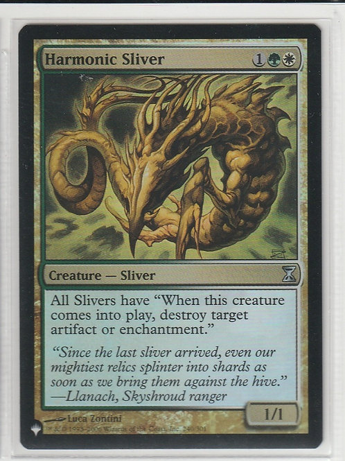 Harmonic Sliver Mystery Booster Retail Edition Foils #240/301