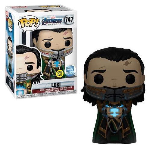 Loki Funko Pop! Avengers Endgame #747 Funko Shop Exclusive *Damaged*