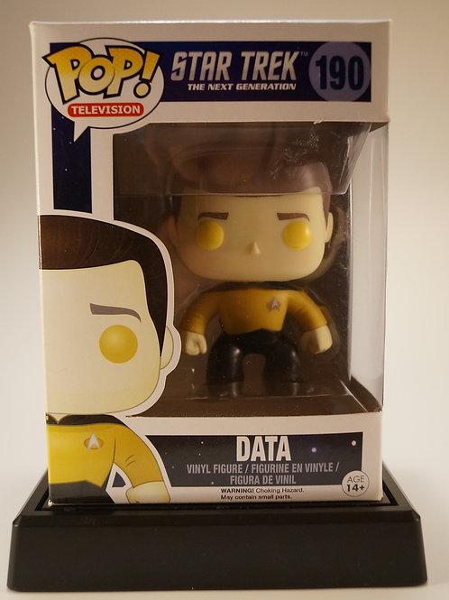 Data Funko Pop! Star Trek #190 Vaulted