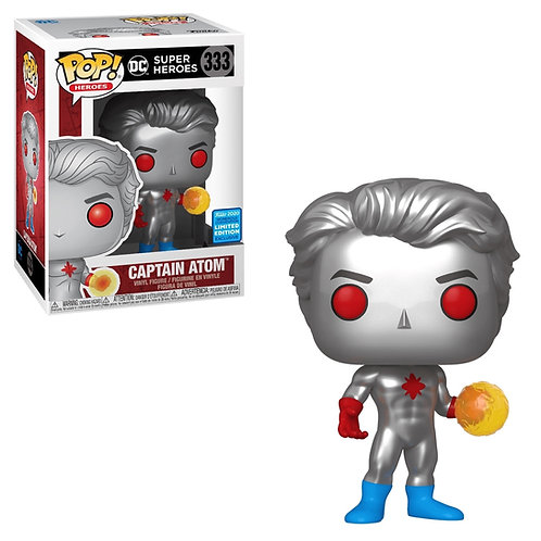Captain Atom Funko Pop! DC Super Heroes Funko Limited Edition #333