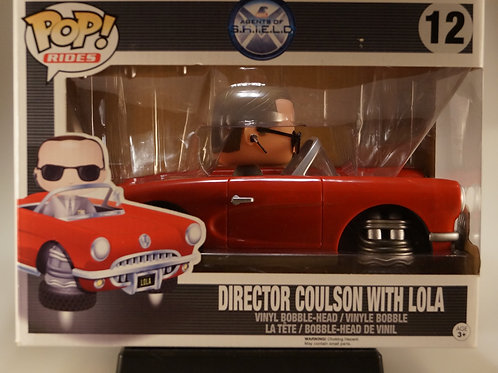 Director Coulson with Lola Funko Pop! Agents of Shields #12 Vaulted