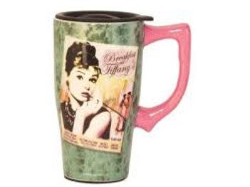 Audrey Hepburn Tiffany's Travel Mug