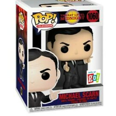 Michael Scarn Funko Pop! Threat Level midnight  Only At Go #1060