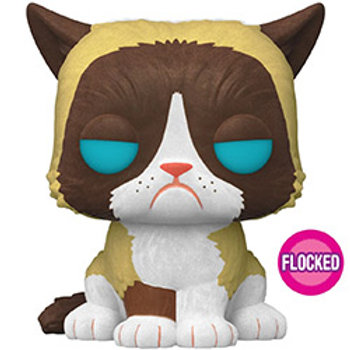 Grumpy Cat Flocked Funko Pop! Grumpy Cat #60 Special Edition