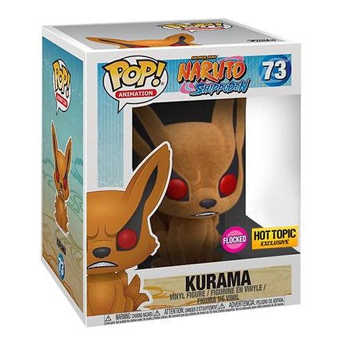 Kurama Flocked Funko Pop! Naruto Hot Topic exclusive #73