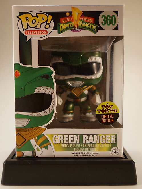 Green Ranger Funko Pop! Power Ranger #360 Toy Tokyo Exclusive