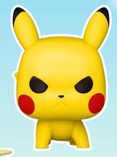 Pikachu Attack Stance Funko Pop! Pokemon *Pre-Order*