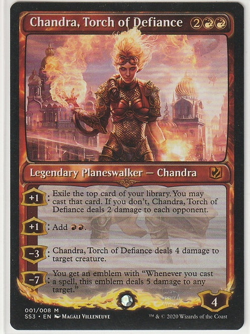 Chandra, Torch of Defiance Signature Spellbook Chandra #001/008
