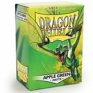 Dragon Shield Sleeves Matte Apple Green
