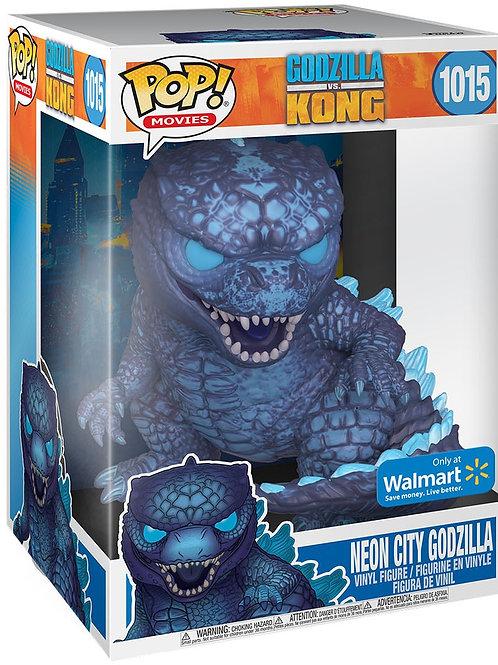 Neon City Godzilla 10'' Funko Pop! Godzilla VS Kong Walmart Exclusive #1015