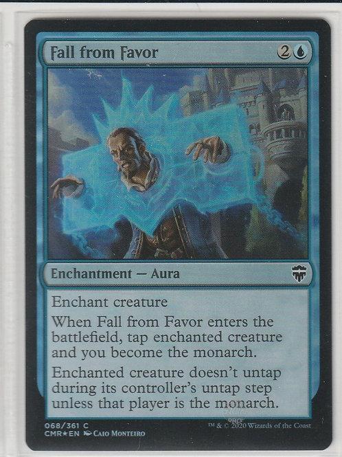 Fall From Favor Foil Commander Legends #68/361