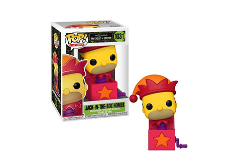 Jack-in-the-Box Homer Funko Pop! The Simpsons Treehouse of Horror #1031