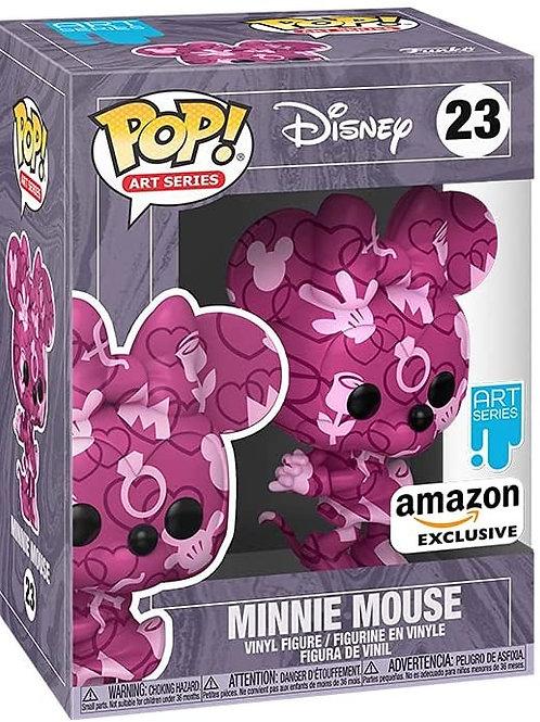Minnie Mouse Art Funko Pop! Disney Art Series Amazone Exclusive #23